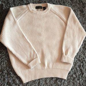 Eddie Bauer Cream Sweater